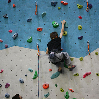 Intro to climbing for 2 Juniors image