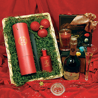 Contemporary Christmas Hamper image
