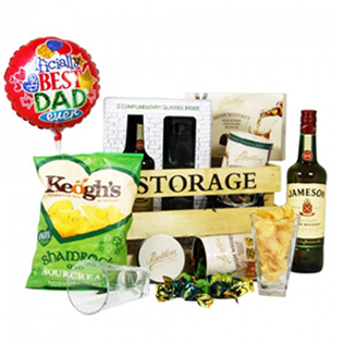 Dad's Storage Goodie Hamper image