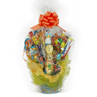 Easter bunny chocolate bouquet gift vouchers allgifts easter bunny chocolate bouquet negle Images