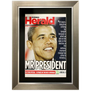 Small Framed Front Page image