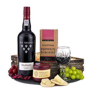 Classic Port & Stilton Christmas Hamper image