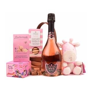 New Baby Girl Christmas Hamper image