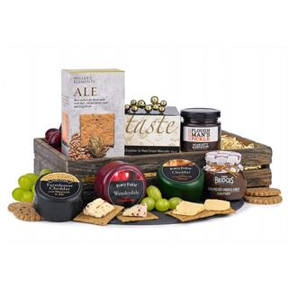 Three Cheese Christmas Hamper image