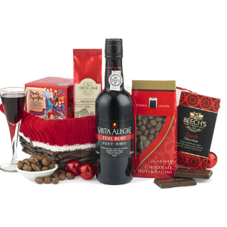 Port & Chocolates Basket image
