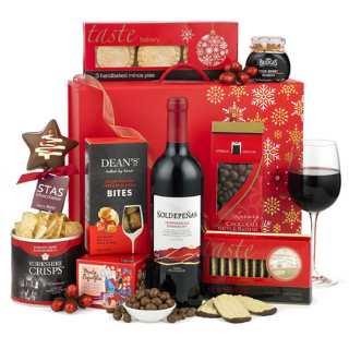 Christmas Red Wine Hamper image
