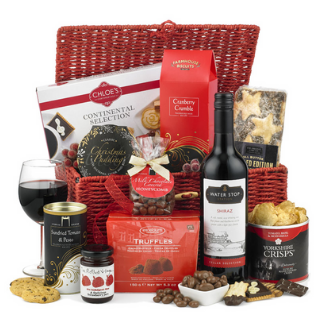 Santa Red Hamper image