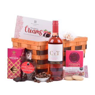 Rose & Treats Hamper image