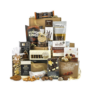 Deluxe Chocolate Tower Hamper image