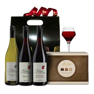 3 Bottle French Hamper & Butlers image