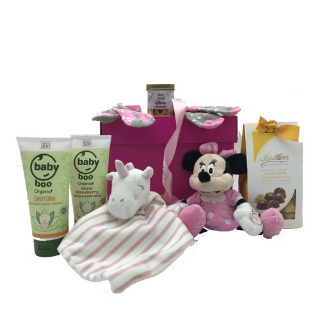 Minnie Mouse Baby Hamper image
