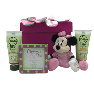 Minnie Mouse & Baby Frame Hamper image