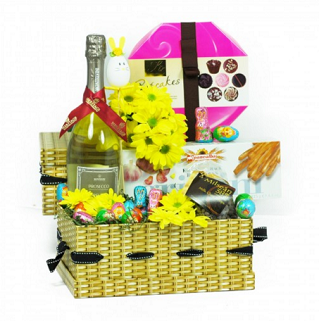 Gift hampers in ireland allgifts prosecco cupcakes easter hamper image negle Images