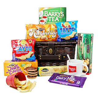 Gift Basket of Irish Goodies image