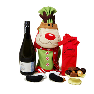 Reindeer Christmas Delights Prosecco image