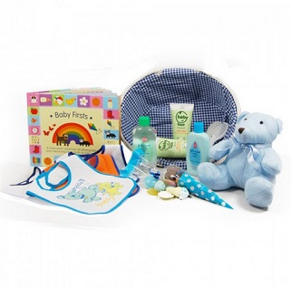 Baby Firsts Hamper (Boy) image