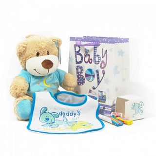 Thank Heavens Baby Gift Hamper (Boy) image