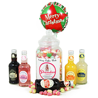 Fentimans and Sweets Christmas Hamper image