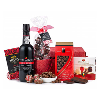 Port & Chocololate Hamper image