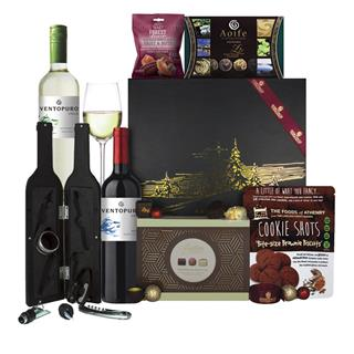Jack Frost Christmas Hamper w/ Mr. Giles Wine Acc. image