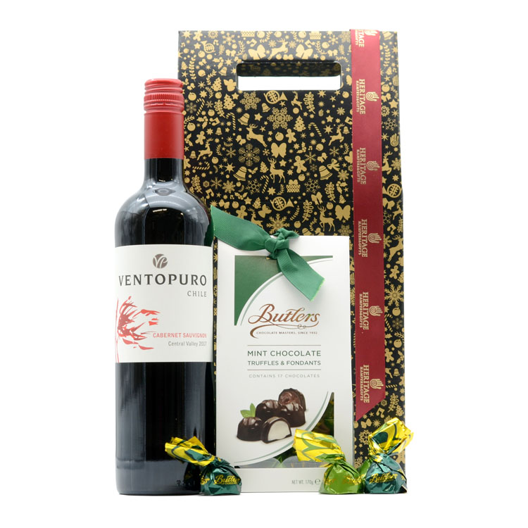 Red Chilean Christmas Hamper image