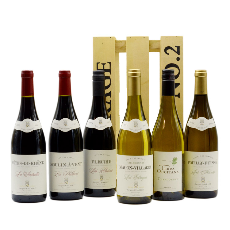 Jacques Charlet French Wine Hamper image
