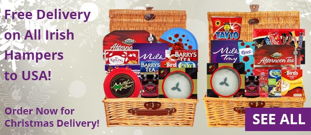 Irish Hampers With FREE DELIVERY Across USA