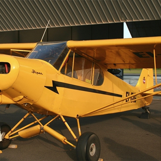 Piper Cub Tailwheel Flying Lesson image
