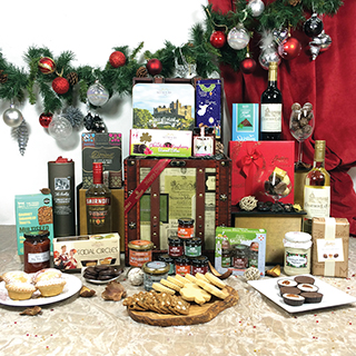 Indulgent treats Christmas Hamper image