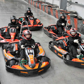 Indoor Karting for Kids