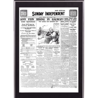 Large Framed Front Page