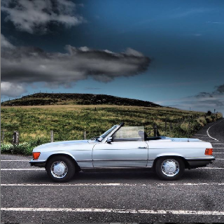 Mercedes 350SL Classic Car Full Day Experience