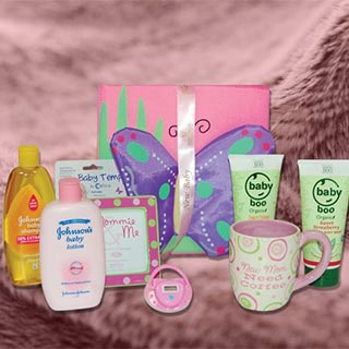 Mum & Baby Girl Hamper