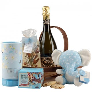 New Baby Boy Gift Hamper image