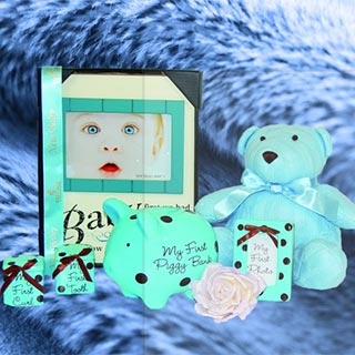 New Prince Baby Boy Hamper image