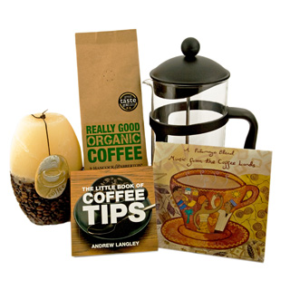 Organic Coffee Pamper Hamper image
