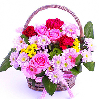 Pretty Basket Bouquet image