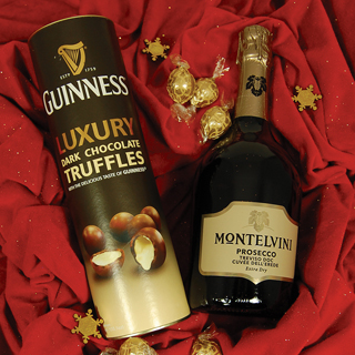 Prosseco and Truffles Christmas Hamper image