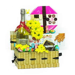 Prosecco and Cupcakes Easter Basket image