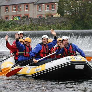 Rafting Trip 3 People | River Liffey image