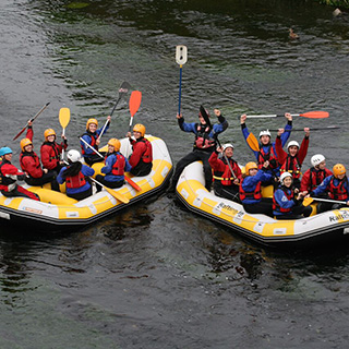 Rafting Trip 7 People | River Liffey image