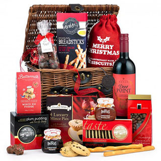 Red Santa Gift Box image