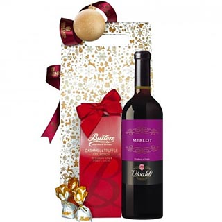 Spanish Delights Red Christmas Hamper image