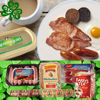 St. Patricks Day Breakfast Hamper image