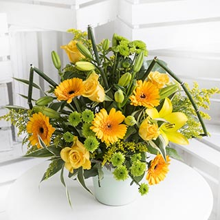 Sunshine Flower Bouquet image