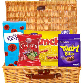 Sweets For My Sweet Hamper (FREE Delivery to USA) image