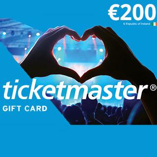 €200 Ticketmaster eVoucher