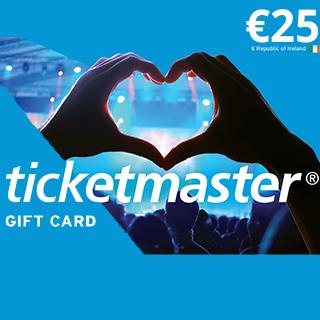 €25 Ticketmaster eVoucher image