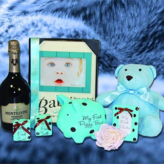 Toast to a Prince Baby Hamper image