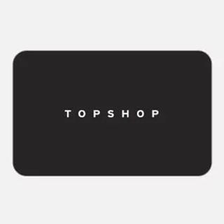 Topshop Gift Vouchers